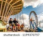 munich  germany   october 2 ...   Shutterstock . vector #1199370757