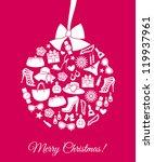 illustration of a christmas...   Shutterstock .eps vector #119937961