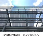 solar collector  heat for solar ... | Shutterstock . vector #1199400277