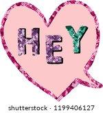 Hey Love Slogan