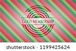gold membership christmas... | Shutterstock .eps vector #1199425624