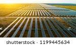 solar photovoltaic panels in... | Shutterstock . vector #1199445634