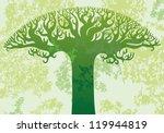 vector background  green... | Shutterstock .eps vector #119944819