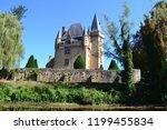 castle of saint leon sur vezere ... | Shutterstock . vector #1199455834