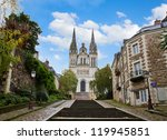 cathedral church of  Saint Maurice,  Angers, France