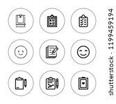 feedback icon set. collection...