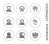 personality icon set....   Shutterstock .eps vector #1199462314