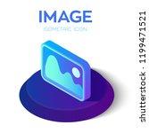 image icon. 3d isometric image...