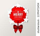 stars for christmas layout... | Shutterstock .eps vector #1199472454