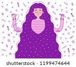 woman graphic designer. cute...