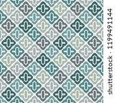 oriental traditional pattern.... | Shutterstock .eps vector #1199491144
