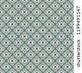 oriental traditional pattern.... | Shutterstock .eps vector #1199491147