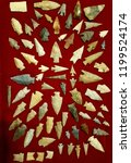 texas arrowhead collection | Shutterstock . vector #1199524174