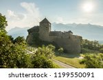 a vaduz castle from... | Shutterstock . vector #1199550091