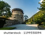 a vaduz castle from... | Shutterstock . vector #1199550094