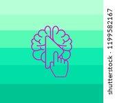 including the brain   Shutterstock .eps vector #1199582167