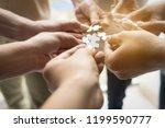 Hand Teamwork Together Pick...