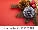 christmas ornament | Shutterstock . vector #119961181