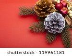 christmas ornament   Shutterstock . vector #119961181