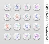 neurotoxin injection app icons...