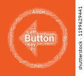 left arrow button icon