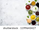 set of sauces   ketchup ... | Shutterstock . vector #1199643427