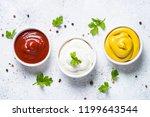 Set Of Sauces   Ketchup ...