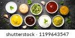 set of sauces   ketchup ...   Shutterstock . vector #1199643547