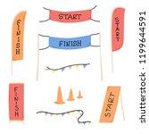 vector illustration of start... | Shutterstock .eps vector #1199644591