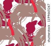 brush strokes. seamless texture ... | Shutterstock .eps vector #1199665267