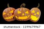 illustration of a halloween... | Shutterstock . vector #1199679967