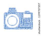 photograph camera icon   Shutterstock .eps vector #1199707357