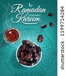 ramadan kareem. islam religious ... | Shutterstock .eps vector #1199714284