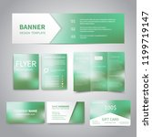 banner  flyers  brochure ... | Shutterstock .eps vector #1199719147
