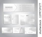 banner  flyers  brochure ... | Shutterstock .eps vector #1199719177