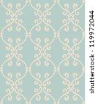 Stock vector seamless vintage pattern 119972044