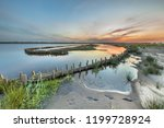 new ecological wet berm banks... | Shutterstock . vector #1199728924