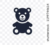 Teddy Bear Transparent Icon....