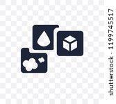states of matter transparent...   Shutterstock .eps vector #1199745517