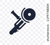 angle grinder transparent icon. ...   Shutterstock .eps vector #1199748004
