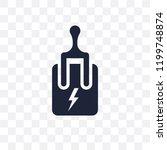 circuit breaker transparent... | Shutterstock .eps vector #1199748874