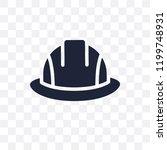 safety helmet transparent icon. ... | Shutterstock .eps vector #1199748931