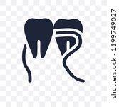 dental floss transparent icon....   Shutterstock .eps vector #1199749027