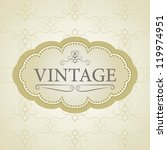 Vintage Vector Background And...