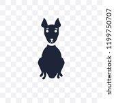 american hairless terrier dog... | Shutterstock .eps vector #1199750707