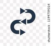 procedure vector icon isolated...   Shutterstock .eps vector #1199759314