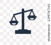 law vector icon isolated on... | Shutterstock .eps vector #1199767141