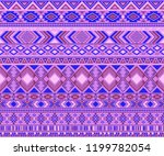 peruvian american indian... | Shutterstock .eps vector #1199782054