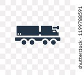 lorry vector icon isolated on... | Shutterstock .eps vector #1199788591