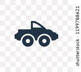 pickup truck vector icon... | Shutterstock .eps vector #1199788621